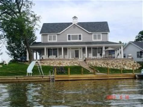 Indian Lake Ohio Cabin Rentals by Zettler Cottage Waterfront With Sunset View