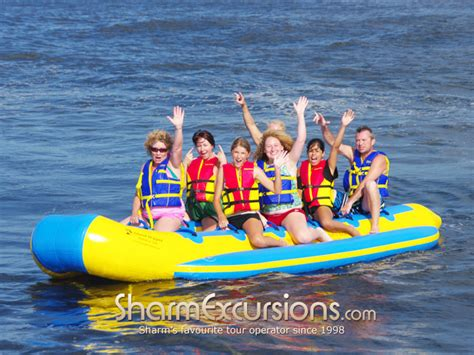 banana boat ride in sharm el sheikh - Banana Boat Egypt