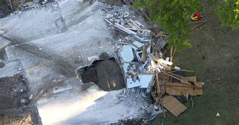 Sink Holes Usa by Fla Home Swallowed By Sinkhole Had Inspection