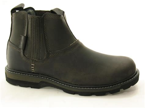 skechers blaine orsen mens boots skechers blaine orsen charcoal mens boots treds