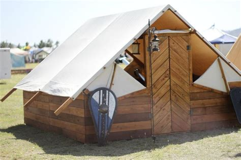 yurt trader canvas and relite wall tents some viking re enactor got jealous of yurts this is