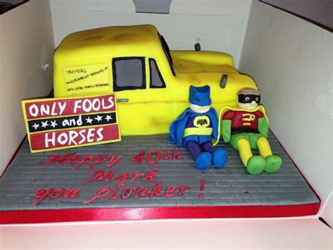 only fools and horses cake by bodelicious cakes and bakes all handmade and fully edible with
