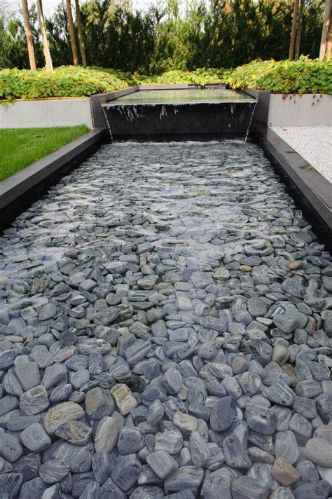 Wasserlauf Garten Modern by Moderne Tuin Strakke Tuin Strakke Vijver Waterpartij
