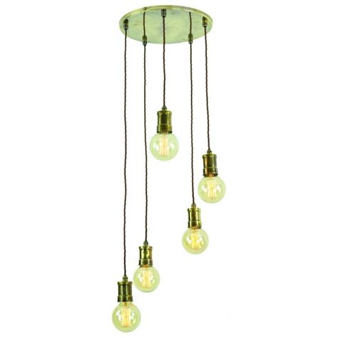 pendant cluster ceiling light with 5 industrial style cage lights vintage industrial style cluster ceiling pendant with