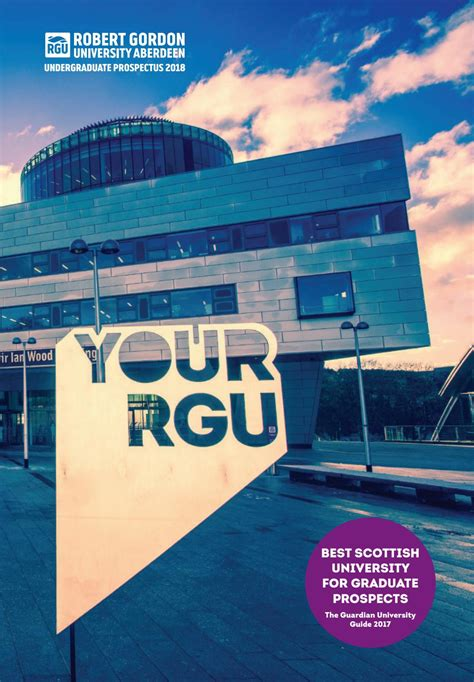 Rgu Mba Graduation by Rgu Undergraduate Prospectus 2018 By Robert Gordon