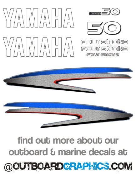 Yamaha Aufkleber Aussenborder by Yamaha 50hp Vier Takt Au 223 Enbordmotor Aufkleber Kit Sticker