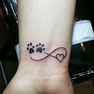 dog paw tattoos google search motivation pinterest