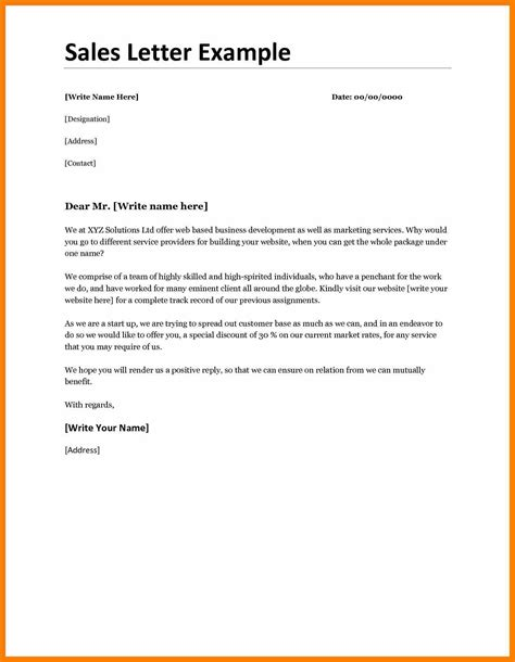 business sales letter best resumes