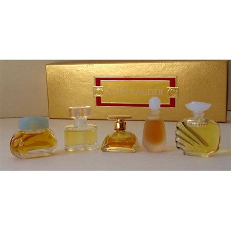 Parfum Estee Lauder Original 5 miniature estee lauder perfumes in original box from