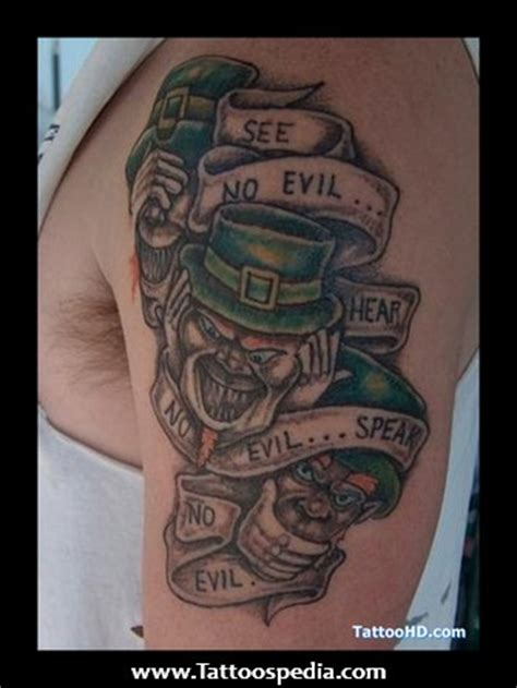 irish mob tattoos mafia tattoos images