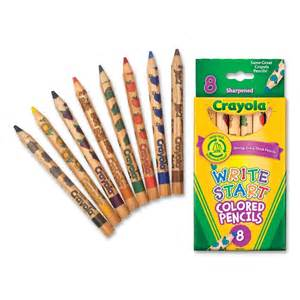 crayola coloring pencils cyo684108 crayola write start colored pencils office