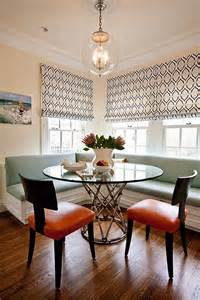 reasons for choosing banquette instead of chairs for prairie perch banquette dining