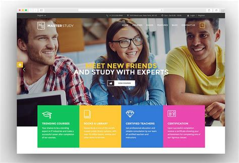 theme for education site 30 best responsive education wordpress themes 2017