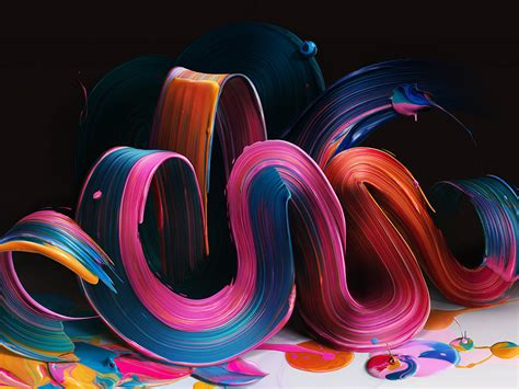 i papers bb21 paint color rainbow digital