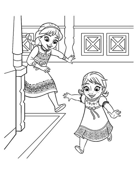 little elsa coloring page free coloring pages of little elsa