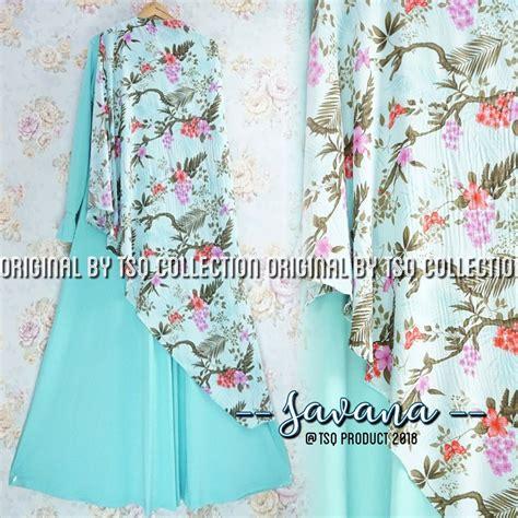 Shaz Gamis Pesta Set Jilbab Syari Cantik Ori Murah baju gamis syari savana jersey busana muslim cantik murah
