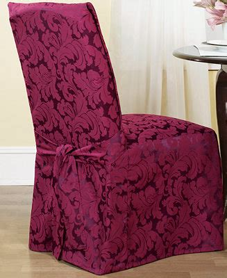 sure fit scroll dining room sure fit scroll dining room chair slipcover slipcovers for the home macy s