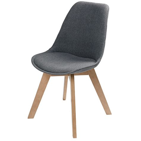 scandinavian chairs scandinavian style mottled grey fabric chair ice maisons