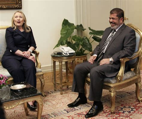 hillary clinton biography egypt hillary praised muslim brotherhood newsmax com