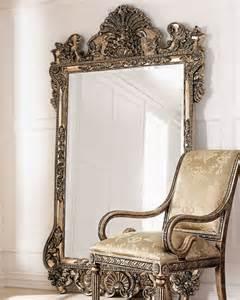 furniture leaning floor mirror for interior decor ideas