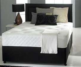 King Bed Base Only 6ft King Size Divan Bed Base Only In Black Faux Leather
