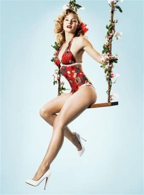Hayden Panettiere Vs Into A 50s Pinup In You Magazine by Modern As Vintage Pin Up 13 Pics