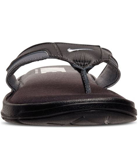 nike comfort thong mens nike men s solarsoft comfort thong sandals from finish