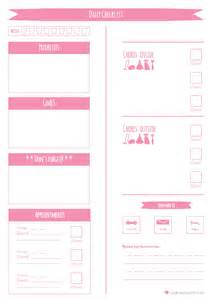 daily planner printable to do list loulouzoo