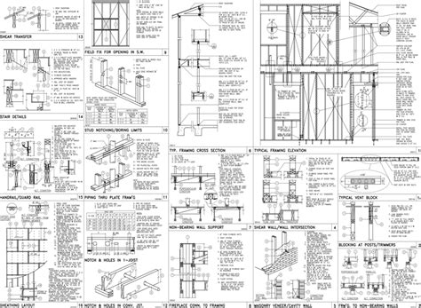 Q Cad Drawing by Photos Residential Construction Drawings Sle Pdf