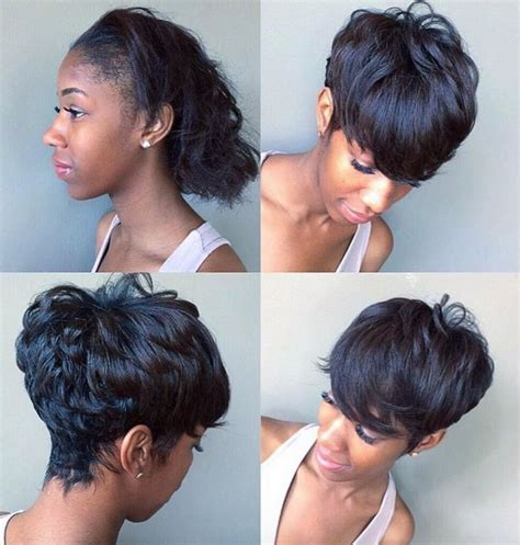 african american short maintenance hairstyle best short african american hairstyles 2017 gallery