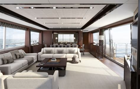 boat show jobs southton the 32m princess the largest yacht at the london