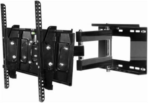 beautiful articulating tv wall mount in spaces peerless tvalu truvue universal articulating wall mount