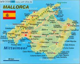 Mallorca World Map by Map Of Mallorca Spain Map In The Atlas Of The World
