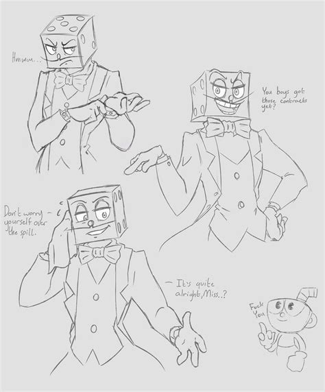 doodle dice nz pixelated panda king dice doodles cuphead don t