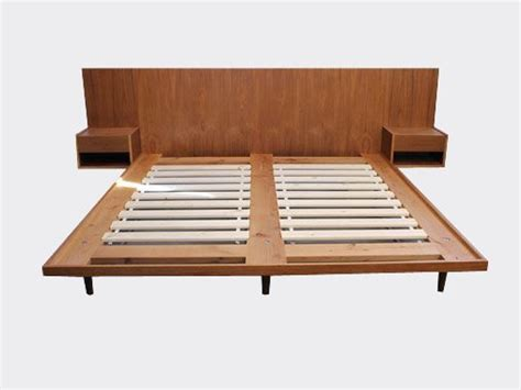 mid century king bed and exceptional modern 25 best images about bedroom on king platform