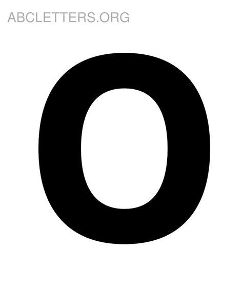 Large Printable Letter O | big bubble letter o www pixshark com images galleries