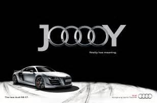Audi Advertisment Audi Print Advert By Tonic Jooooy Black Ads Of The World