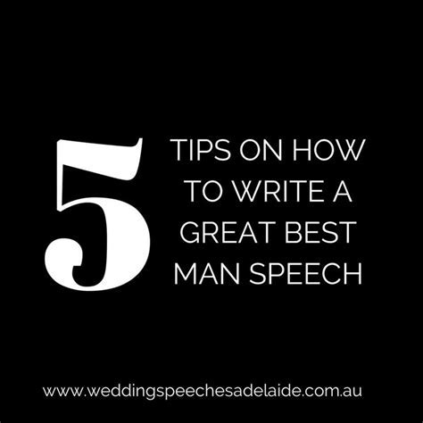 5 Tips for Writing a Great Best Man Speech   Wedding