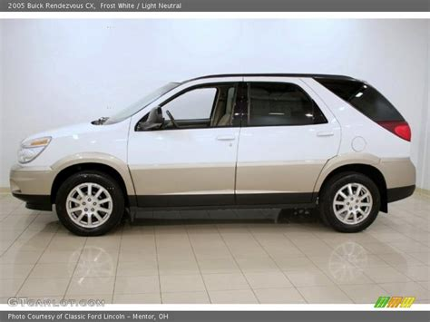 2005 buick rendezvous cx in white photo no 27374123