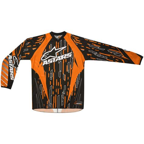 youth motocross jersey alpinestars 2012 youth racer motocross jersey