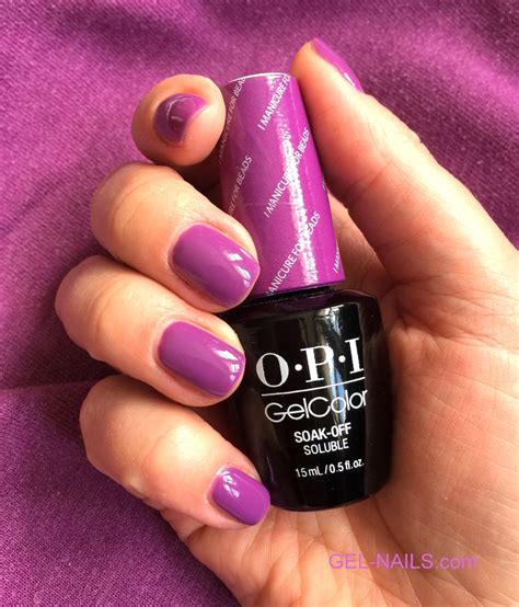 Opi Gel Nail by Gel Color By Opi I Manicure For New Orleans