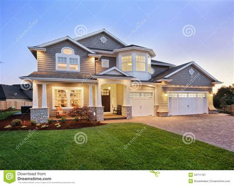 house photos free beautiful new home exterior stock image image of luxury