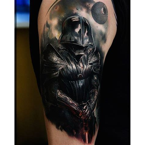 darth vader tattoo darthvader on instagram