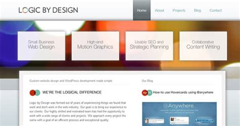 web design effect bokeh effect in web design exles and tutorials