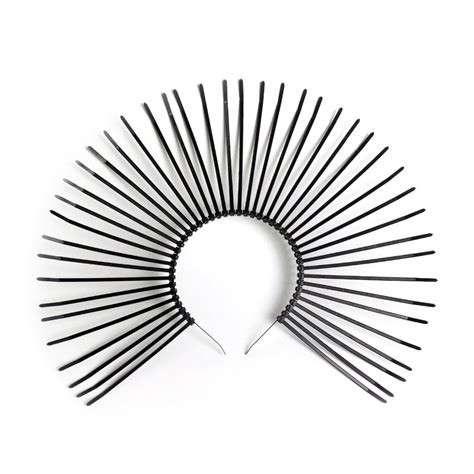 halo or halo crown apatico metropolis halo crown gothic spiked sunburst