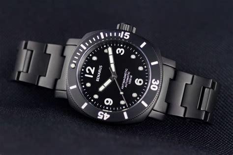 Black Bouverie 40 Mm Watches benarus moray 40mm review ablogtowatch