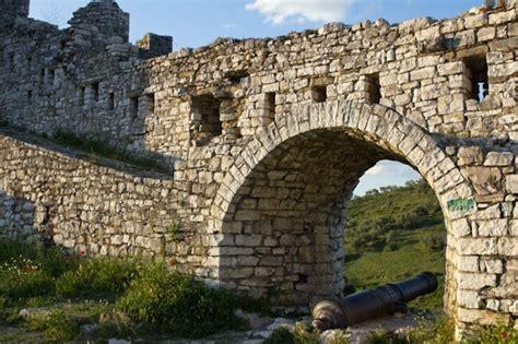 visiting unesco listed berat castle in albania
