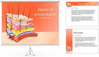 anatomy ppt templates free skin anatomy powerpoint template backgrounds id