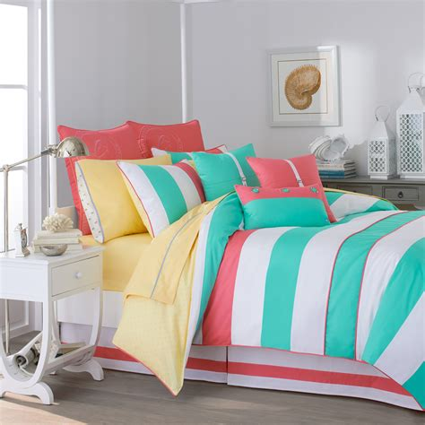 bedding for teenage girl southern tide cabana stripe comforter collection reviews