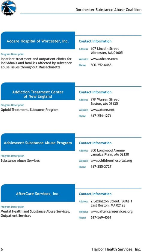 Baldpate Hospital Detox by Substance Abuse Resource Directory Pdf